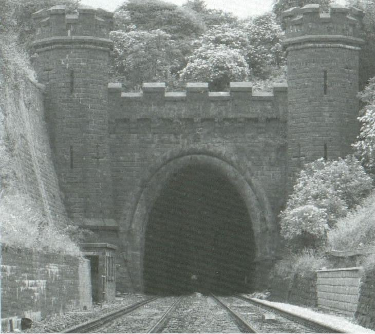 Clay Cross Tunnel (north end)